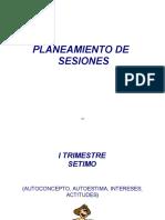 Planeamiento de Sesiones Guia