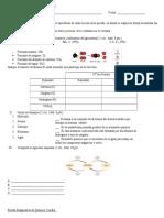 Prueba Diagnostica de Quimica