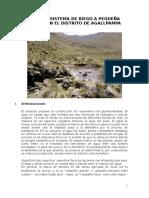 Construccion de Reservorios Con Geomembranas en El Distrito de Agallpampa