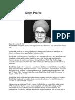 Bhai Mohan Singh Profile