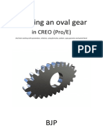 How to Draw a Parametric Oval Gear