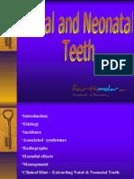 Natal Neonatal Teeth Pedo