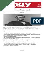 9 Frases de Abraham Lincoln