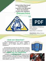 diapositiva de desechos peligrosos - proteccion integral   .pptx
