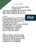 @LA CASA DE DIOS