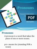 Pronoun for Class PPT