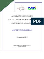 Informativo IAC APTA MiMilho-Safrinha-2015lho Safrinha 2015