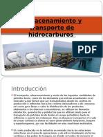 Almacenamiento y Transporte de Hidrocarburos