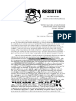 Pedalar e Resistir-  Texto do Ivano Fontes