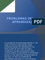 Problemas Del Aprendizaje (Seminario)