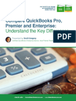 Differences Between QuickBooks Pro Premier and Enterprise