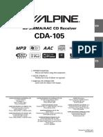 Alpine CDA-105_EN