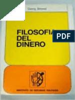 Simmel Georg - Filosofia Del Dinero.pdf
