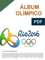 Album Juegos Olimpicos 2