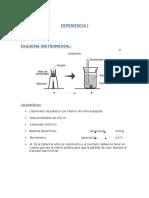 Informe laboratorio calorimetria