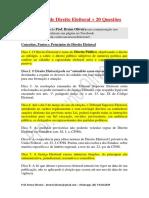 175 DICAS DIREITO ELEITORAL E QUESTOES - PROF BRUNO OLIVEIRA.pdf