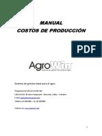 Manual Costos agropecuarios