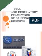 2016 Legal Framework of Banking