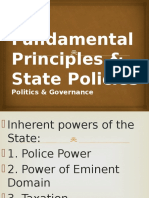ART.ii Principles & State Policies