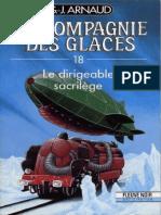 Arnaud - La Compagnie Des Glaces - 18 - Le Dirigeable Sacrilège