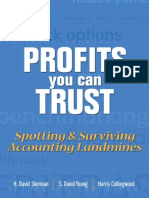 Profits You Can Trust Spotting & Surviving Accounting Landmines by H. David Sherman, S. David Young, Harris Collingwood (Forensic Audit)