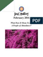 february - abundance