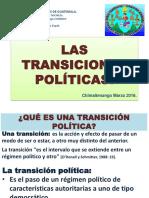 II Parcial Las Trancisiones Politicas.