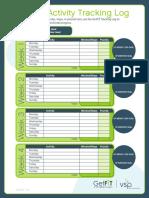 GetFiT Tracking Log Manual