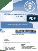 Malnutricion Colombia y El Mundo Santiago Mazo SINIA 2013