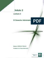 Lectura 3 - El Derecho Administrativo (M2)