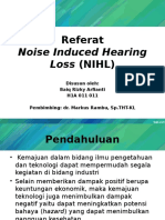 Referat Noise Induced Hearing Loss