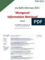 00 Mengenal Information Retrieval
