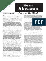 The Power of the Word - Kwasi Akwamu