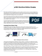 Usb c Buck Boost Battery Charging Ecn
