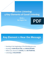 Effective Listening 2