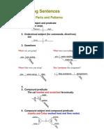diagramming sentence examples