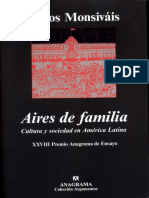 Carlos Monsiváis - Aires de Familia