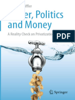 Water Politics and Money
