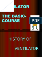 Ventilator the Basic Course