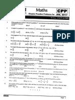 Physics CPP-FIITJEE