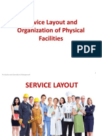 POM- Service Facility Layout Organization of Facilities