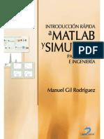 Introducción Rápida a Matlab Y Simulink - Manuel Gil Rodríguez