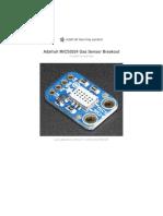 Adafruit Mics5524 Gas Sensor Breakout