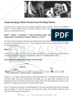Understanding 4+Note+Chords From+the+Major+Modes