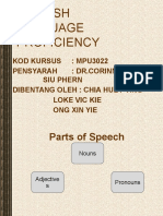 Parts of Speech Adverbs (1)