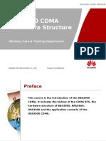 DBS3900 CDMA Hardware Structure 20081120 B 1.0