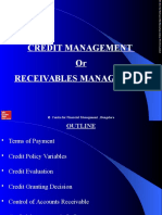 Credit or Receivables Management