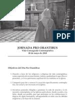 Folleto Pro Orantibus 2010