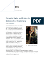 Romantic Myths & Ending Codependent Relationships
