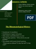 Inflammatory Arthritis (Sdd)